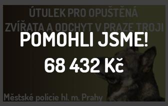 Sbírka pro Útulek v Praze Troji